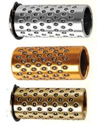 模座用滚珠导引衬套(附卡环型、附耐磨环型)