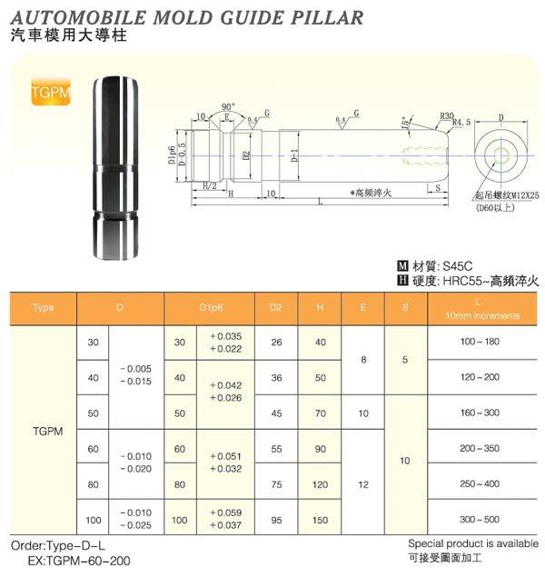Automobile-Mold-Guide-Pillar