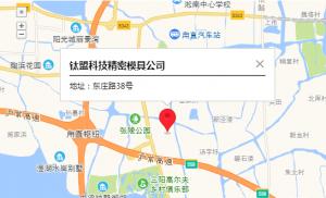 SUZHOU TAIMON MAP