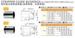 Stripper-Guide-Bushings(Oil-Lubricating Self-Lubricating)(3μm)